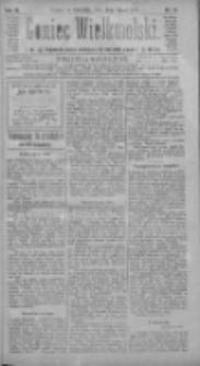Goniec Wielkopolski: najtańsze pismo codzienne dla wszystkich stanów 1885.01.15 R.9 Nr11