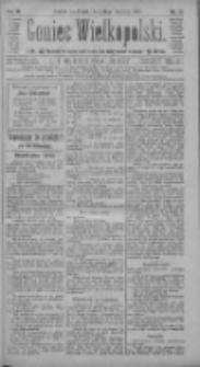 Goniec Wielkopolski: najtańsze pismo codzienne dla wszystkich stanów 1885.01.16 R.9 Nr12