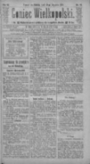 Goniec Wielkopolski: najtańsze pismo codzienne dla wszystkich stanów 1885.01.24 R.9 Nr19