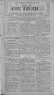 Goniec Wielkopolski: najtańsze pismo codzienne dla wszystkich stanów 1885.01.25 R.9 Nr20