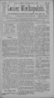 Goniec Wielkopolski: najtańsze pismo codzienne dla wszystkich stanów 1885.01.27 R.9 Nr21
