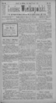 Goniec Wielkopolski: najtańsze pismo codzienne dla wszystkich stanów 1885.02.04 R.9 Nr27
