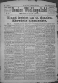 Goniec Wielkopolski: najstarsze i najtańsze pismo codzienne dla wszystkich stanów 1921.02.01 R.44 Nr7