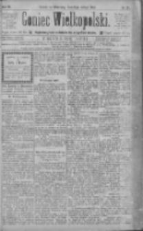 Goniec Wielkopolski: najtańsze pismo codzienne dla wszystkich stanów 1885.02.15 R.9 Nr37