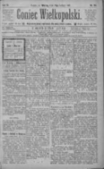 Goniec Wielkopolski: najtańsze pismo codzienne dla wszystkich stanów 1885.02.17 R.9 Nr38