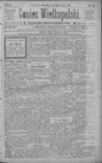 Goniec Wielkopolski: najtańsze pismo codzienne dla wszystkich stanów 1885.02.19 R.9 Nr40