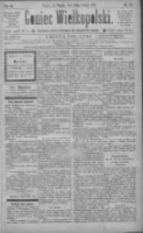 Goniec Wielkopolski: najtańsze pismo codzienne dla wszystkich stanów 1885.02.27 R.9 Nr47