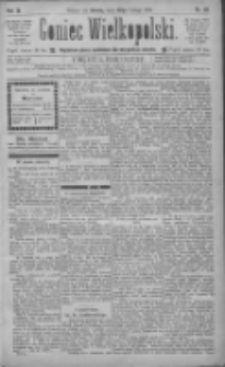 Goniec Wielkopolski: najtańsze pismo codzienne dla wszystkich stanów 1885.02.28 R.9 Nr48