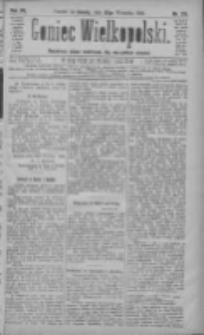 Goniec Wielkopolski: najtańsze pismo codzienne dla wszystkich stanów 1883.09.22 R.7 Nr215
