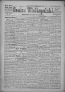 Goniec Wielkopolski: najstarsze i najtańsze pismo codzienne dla wszystkich stanów 1921.03.08 R.44 Nr36
