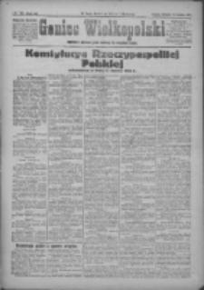 Goniec Wielkopolski: najstarsze i najtańsze pismo codzienne dla wszystkich stanów 1921.04.17 R.44 Nr70