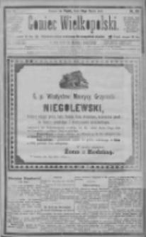 Goniec Wielkopolski: najtańsze pismo codzienne dla wszystkich stanów 1885.03.20 R.9 Nr65