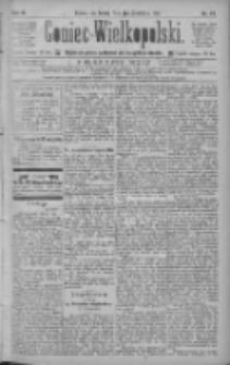 Goniec Wielkopolski: najtańsze pismo codzienne dla wszystkich stanów 1885.04.01 R.9 Nr74