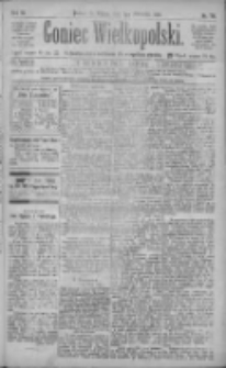 Goniec Wielkopolski: najtańsze pismo codzienne dla wszystkich stanów 1885.04.03 R.9 Nr76