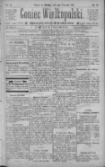 Goniec Wielkopolski: najtańsze pismo codzienne dla wszystkich stanów 1885.04.04 R.9 Nr77