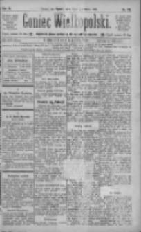 Goniec Wielkopolski: najtańsze pismo codzienne dla wszystkich stanów 1885.04.24 R.9 Nr93
