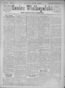 Goniec Wielkopolski: najstarsze i najtańsze pismo codzienne dla wszystkich stanów 1921.08.23 R.44 Nr173