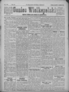 Goniec Wielkopolski: najstarsze i najtańsze pismo codzienne dla wszystkich stanów 1921.09.01 R.44 Nr181