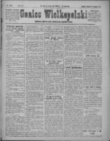 Goniec Wielkopolski: najstarsze i najtańsze pismo codzienne dla wszystkich stanów 1921.09.06 R.44 Nr185