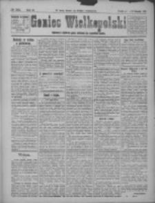 Goniec Wielkopolski: najstarsze i najtańsze pismo codzienne dla wszystkich stanów 1921.11.12 R.44 Nr242