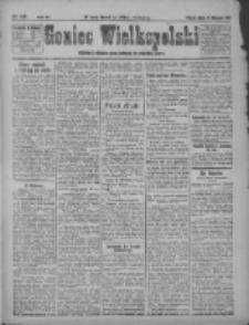 Goniec Wielkopolski: najstarsze i najtańsze pismo codzienne dla wszystkich stanów 1921.11.18 R.44 Nr247