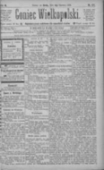 Goniec Wielkopolski: najtańsze pismo codzienne dla wszystkich stanów 1885.06.03 R.9 Nr124