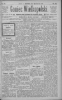 Goniec Wielkopolski: najtańsze pismo codzienne dla wszystkich stanów 1885.06.11 R.9 Nr130