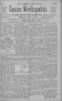 Goniec Wielkopolski: najtańsze pismo codzienne dla wszystkich stanów 1885.06.21 R.9 Nr139