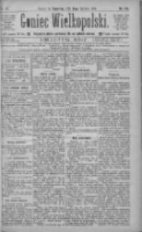 Goniec Wielkopolski: najtańsze pismo codzienne dla wszystkich stanów 1885.06.25 R.9 Nr142