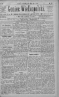 Goniec Wielkopolski: najtańsze pismo codzienne dla wszystkich stanów 1885.07.08 R.9 Nr152