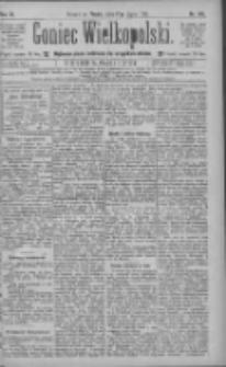Goniec Wielkopolski: najtańsze pismo codzienne dla wszystkich stanów 1885.07.17 R.9 Nr160