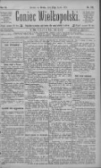 Goniec Wielkopolski: najtańsze pismo codzienne dla wszystkich stanów 1885.07.22 R.9 Nr164