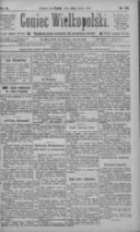 Goniec Wielkopolski: najtańsze pismo codzienne dla wszystkich stanów 1885.07.24 R.9 Nr166