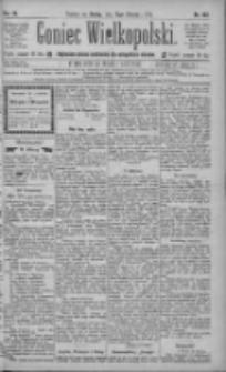 Goniec Wielkopolski: najtańsze pismo codzienne dla wszystkich stanów 1885.08.12 R.9 Nr182