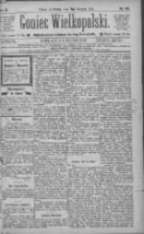 Goniec Wielkopolski: najtańsze pismo codzienne dla wszystkich stanów 1885.08.19 R.9 Nr187