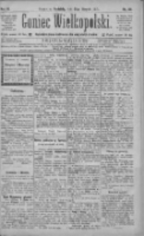 Goniec Wielkopolski: najtańsze pismo codzienne dla wszystkich stanów 1885.08.23 R.9 Nr191