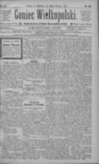 Goniec Wielkopolski: najtańsze pismo codzienne dla wszystkich stanów 1885.08.25 R.9 Nr192