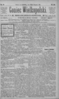 Goniec Wielkopolski: najtańsze pismo codzienne dla wszystkich stanów 1885.08.27 R.9 Nr194