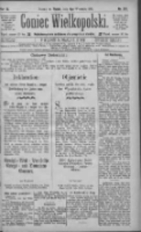 Goniec Wielkopolski: najtańsze pismo codzienne dla wszystkich stanów 1885.09.04 R.9 Nr201