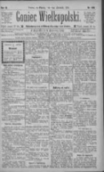 Goniec Wielkopolski: najtańsze pismo codzienne dla wszystkich stanów 1885.09.11 R.9 Nr206