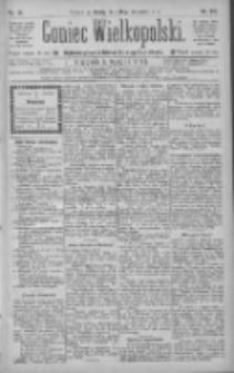 Goniec Wielkopolski: najtańsze pismo codzienne dla wszystkich stanów 1885.09.16 R.9 Nr210