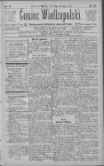 Goniec Wielkopolski: najtańsze pismo codzienne dla wszystkich stanów 1885.09.22 R.9 Nr215