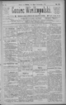 Goniec Wielkopolski: najtańsze pismo codzienne dla wszystkich stanów 1885.10.03 R.9 Nr225