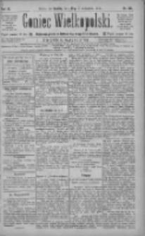 Goniec Wielkopolski: najtańsze pismo codzienne dla wszystkich stanów 1885.10.10 R.9 Nr231