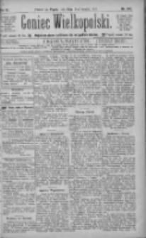 Goniec Wielkopolski: najtańsze pismo codzienne dla wszystkich stanów 1885.10.23 R.9 Nr242