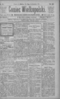Goniec Wielkopolski: najtańsze pismo codzienne dla wszystkich stanów 1885.10.31 R.9 Nr249