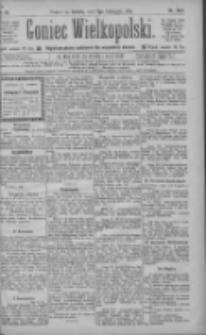 Goniec Wielkopolski: najtańsze pismo codzienne dla wszystkich stanów 1885.11.07 R.9 Nr255