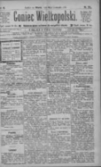 Goniec Wielkopolski: najtańsze pismo codzienne dla wszystkich stanów 1885.11.10 R.9 Nr257