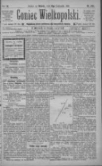 Goniec Wielkopolski: najtańsze pismo codzienne dla wszystkich stanów 1885.11.17 R.9 Nr263