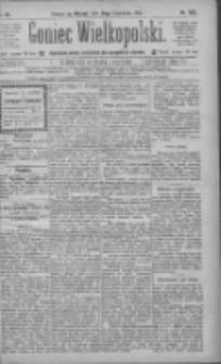 Goniec Wielkopolski: najtańsze pismo codzienne dla wszystkich stanów 1885.11.24 R.9 Nr269